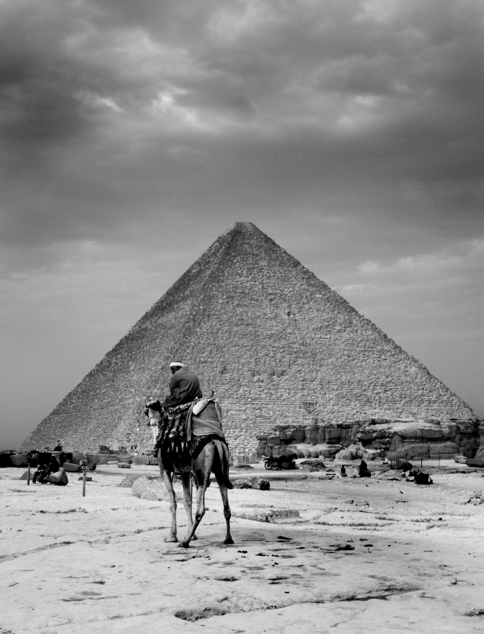 1920-е. Пирамида Хеопса