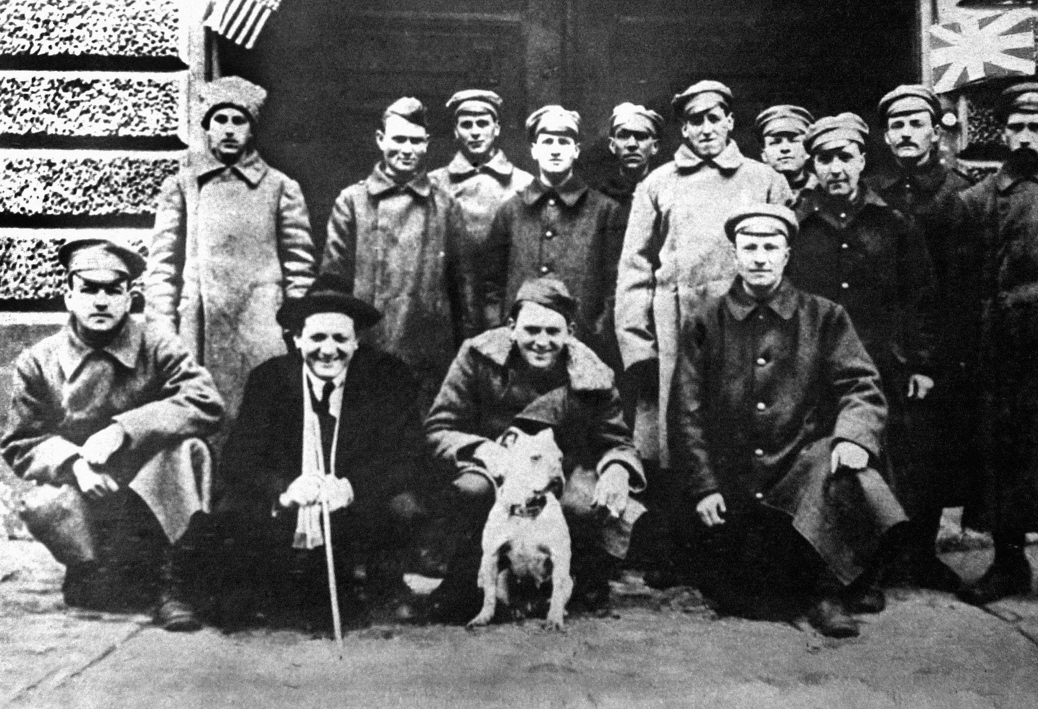 Английские солдаты, взятые в плен в Архангельске и отпущенные на свободу в Москве