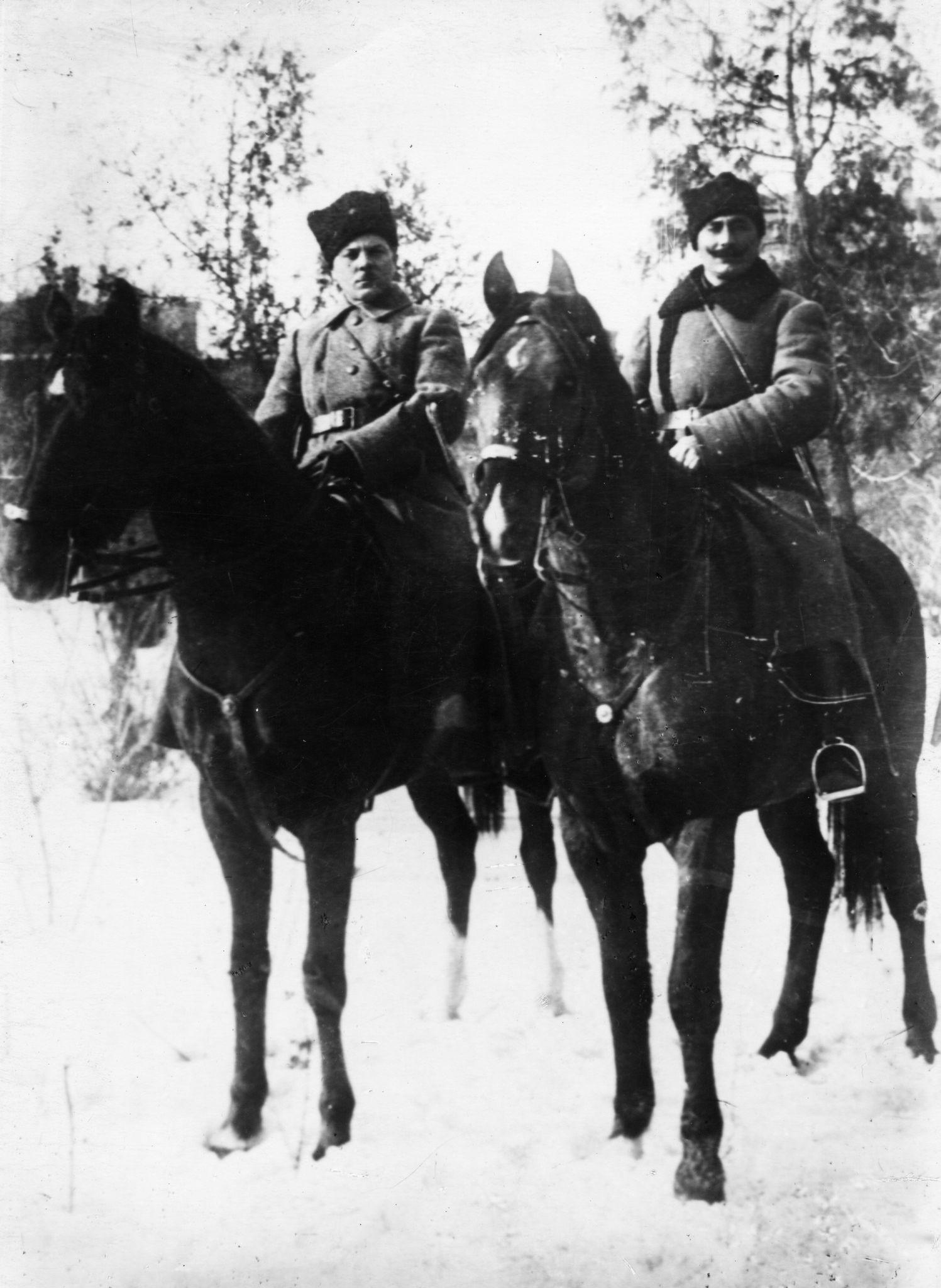 Клемент Ворошилов и Семен Буденный