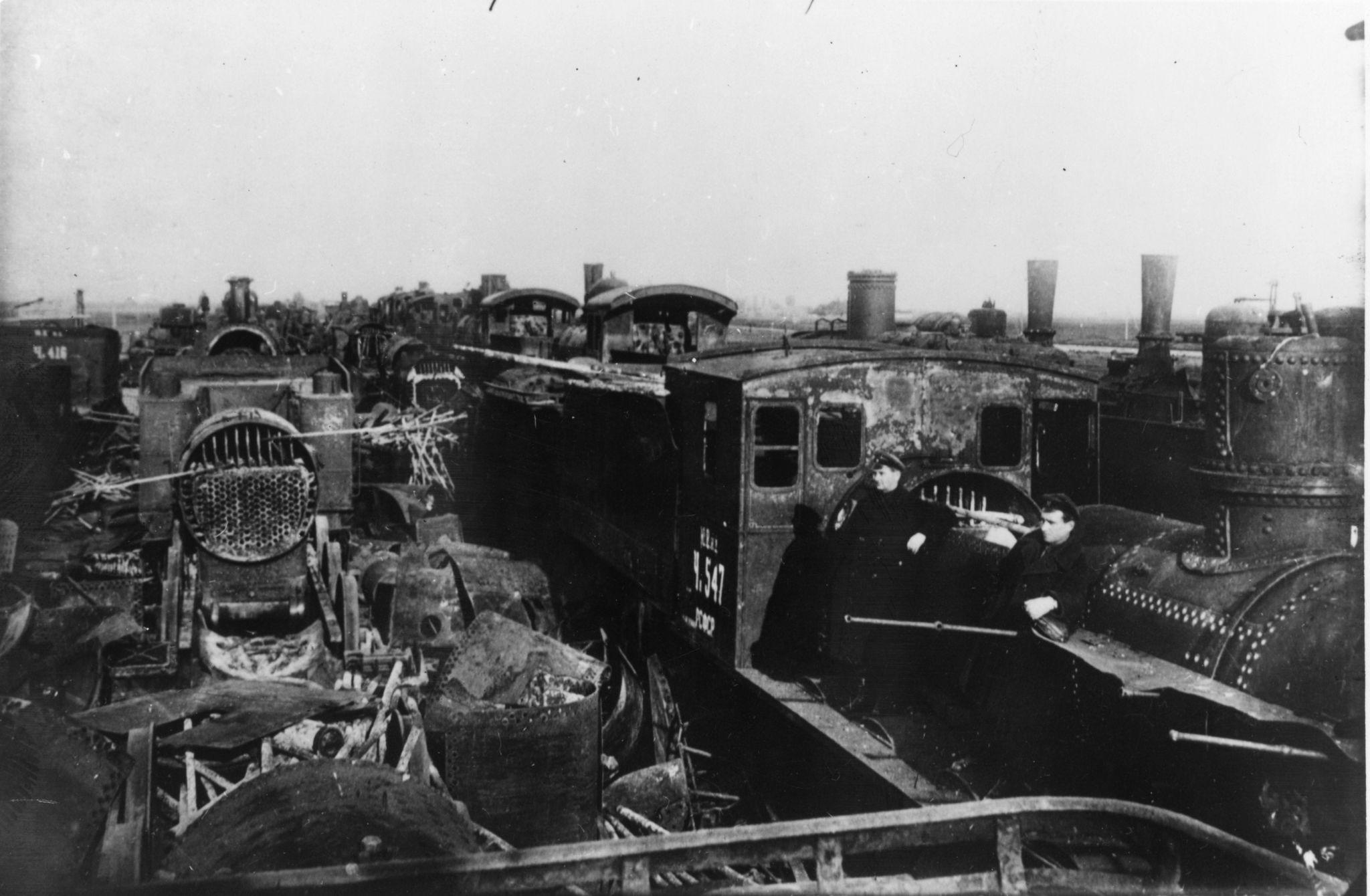 Локомотивы, уничтоженные во время гражданской войны