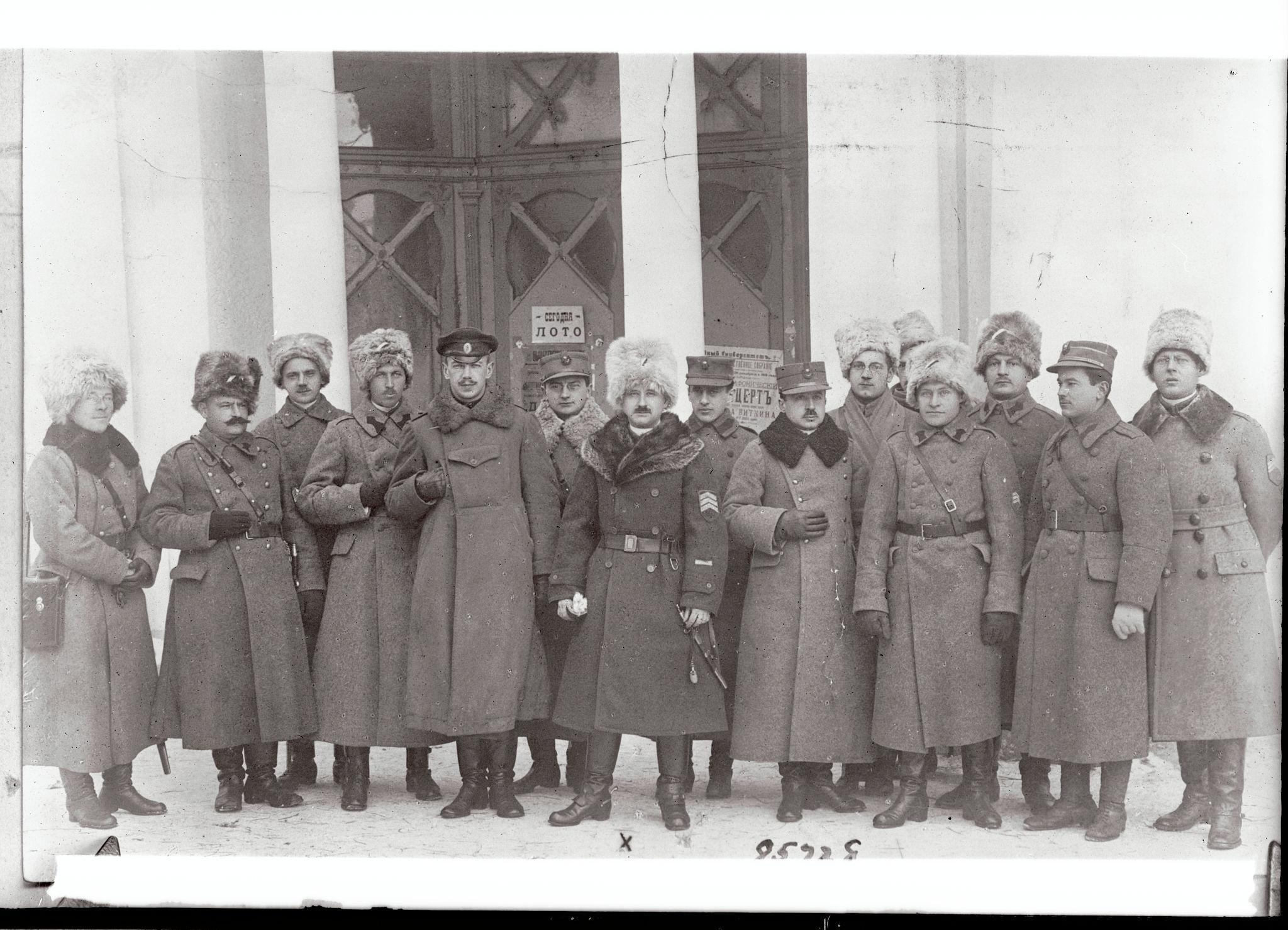 Офицеры румынской армии в Екатеринбурге