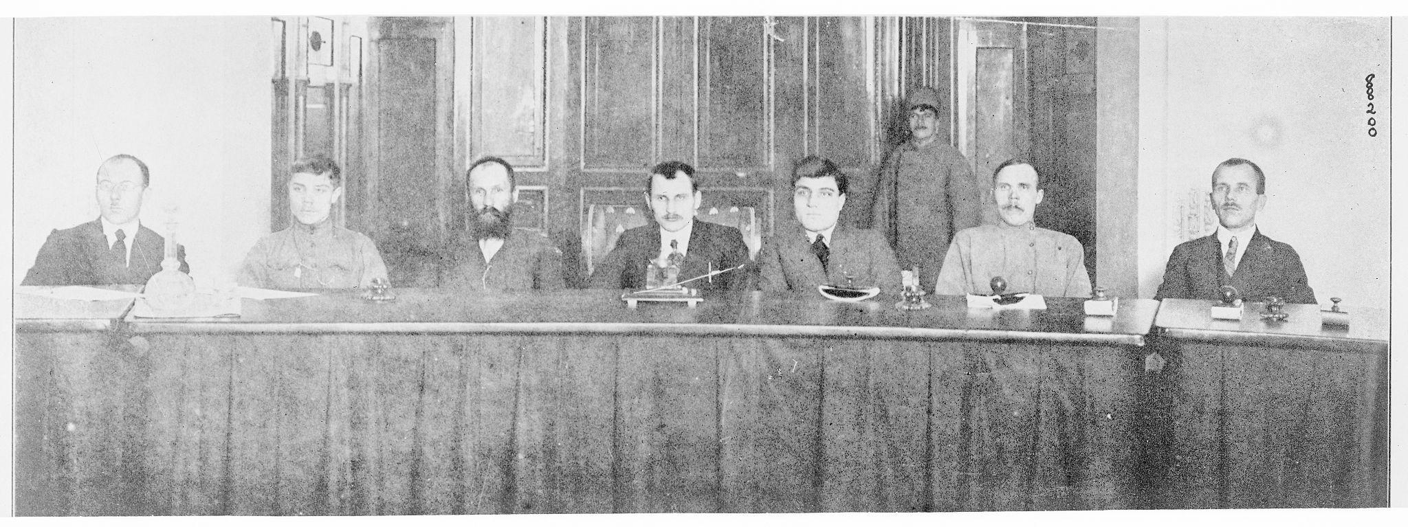 Революционный Трибунал на сессии в Петрограде