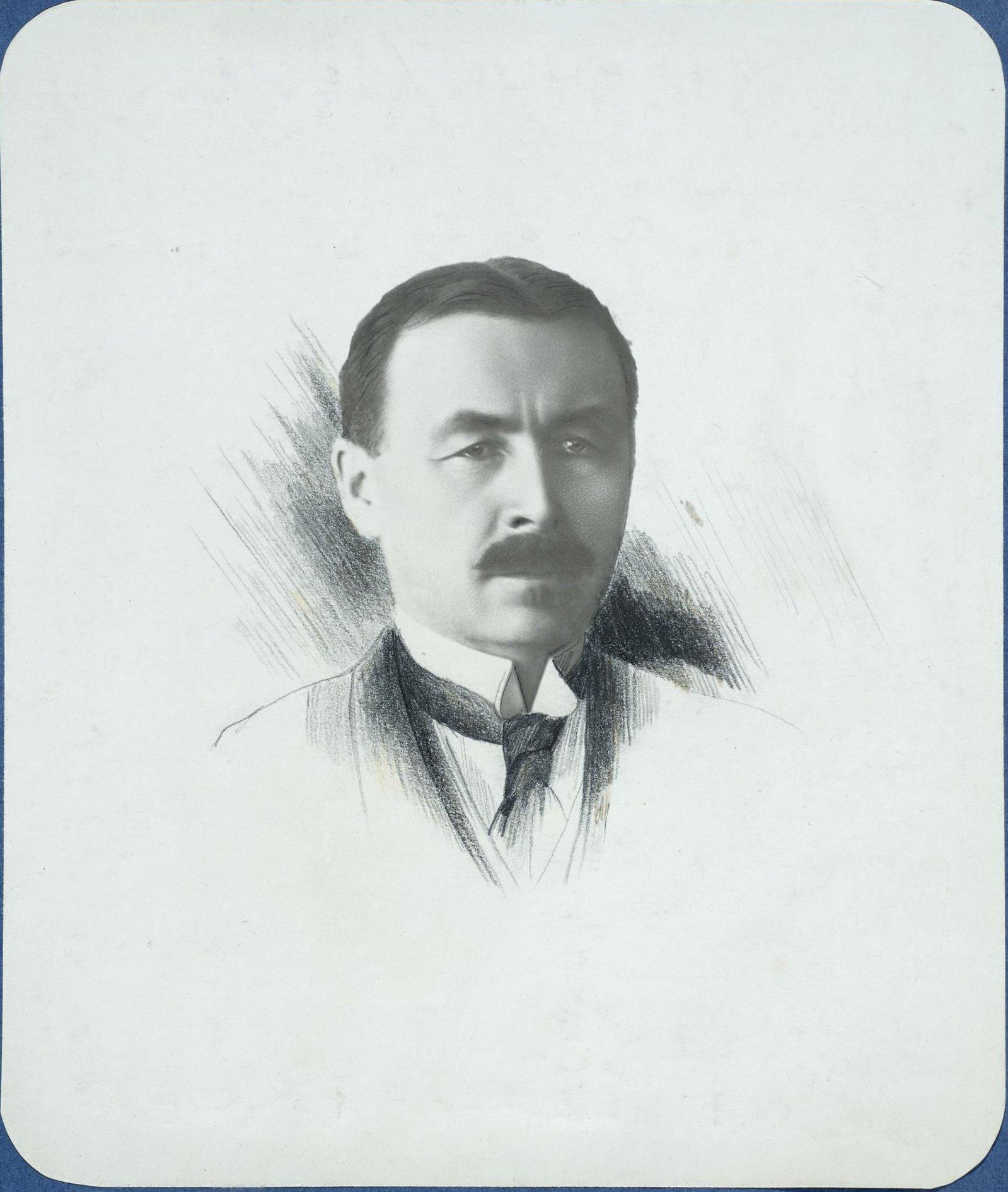 Председатель Центрального железнодорожного комитета помощи голодающим России. Харбин. 31 мая 1922