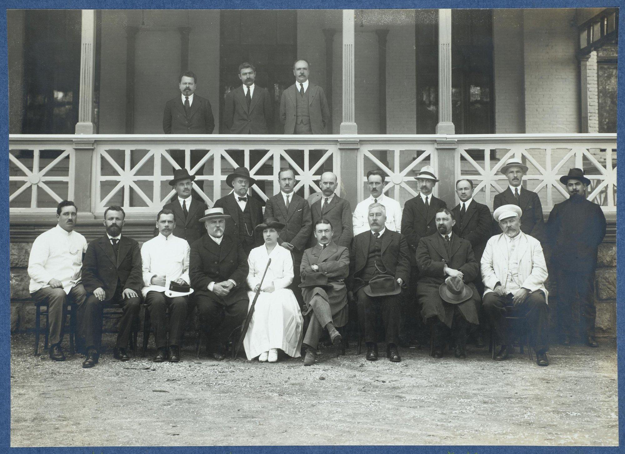 Центральный железнодорожный комитет помощи голодающим России. Харбин. 31 мая 1922
