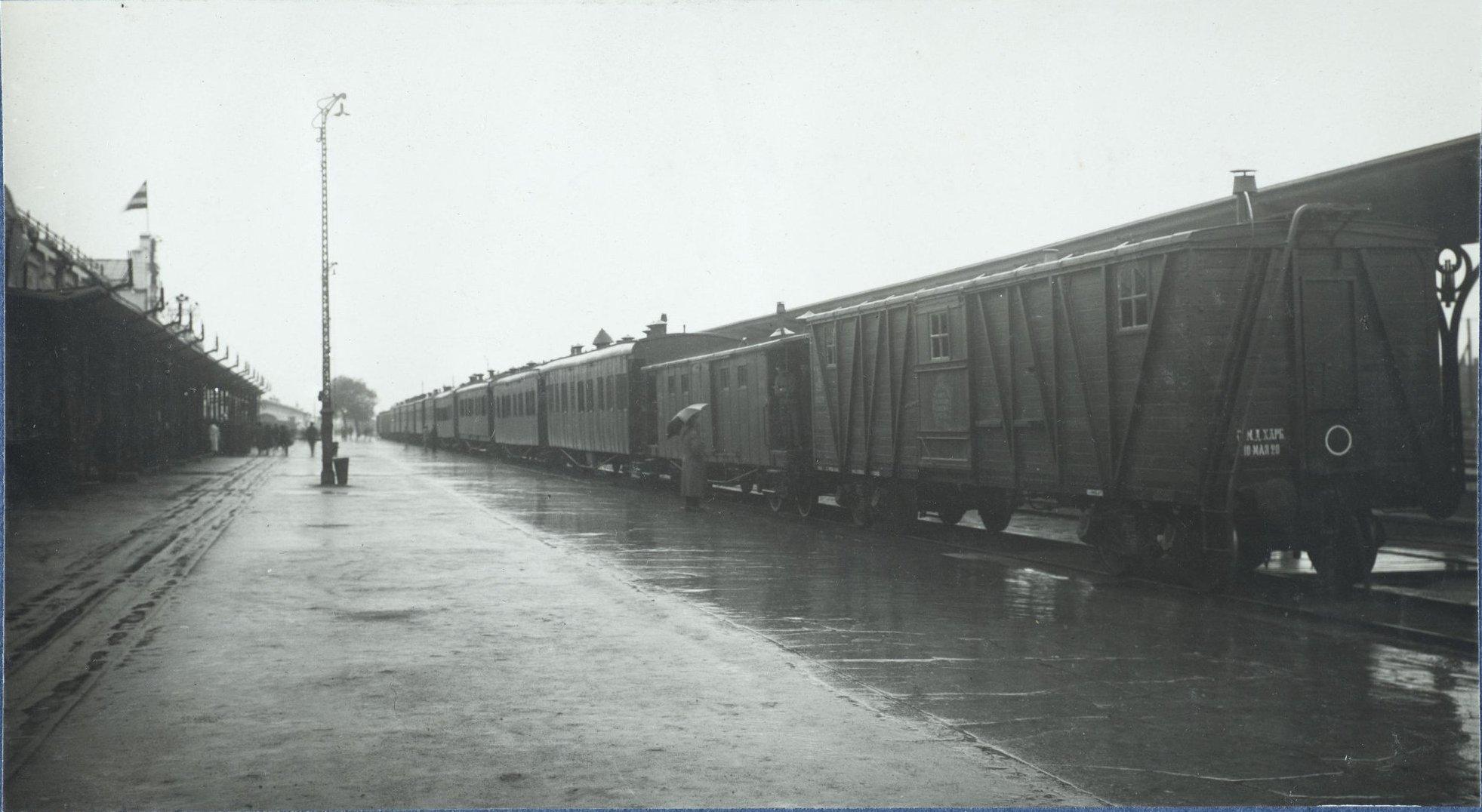 Врачебно-питательный поезд. Харбин. 31 мая 1922