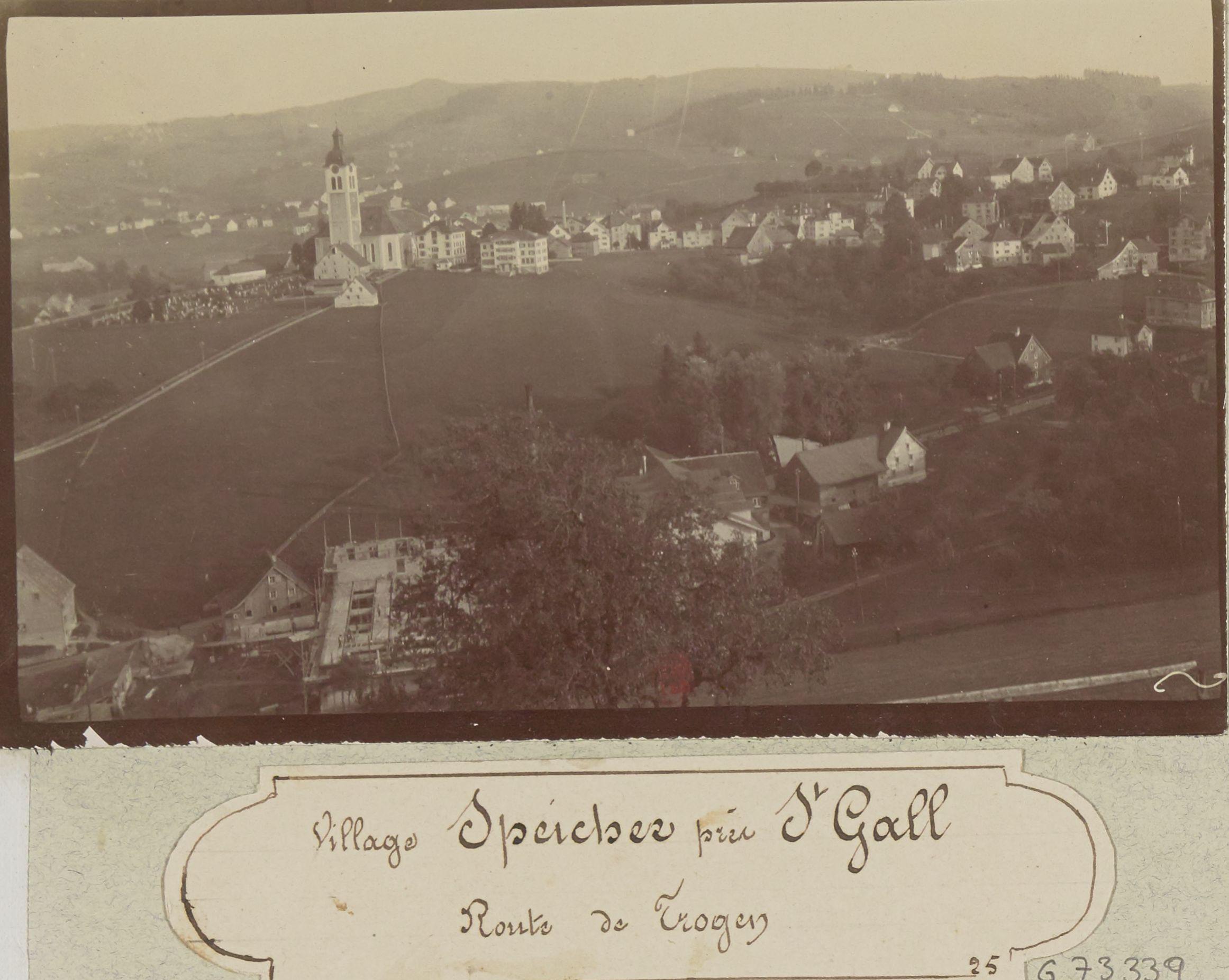 Деревня Шпайхер возле Санк-Галлена