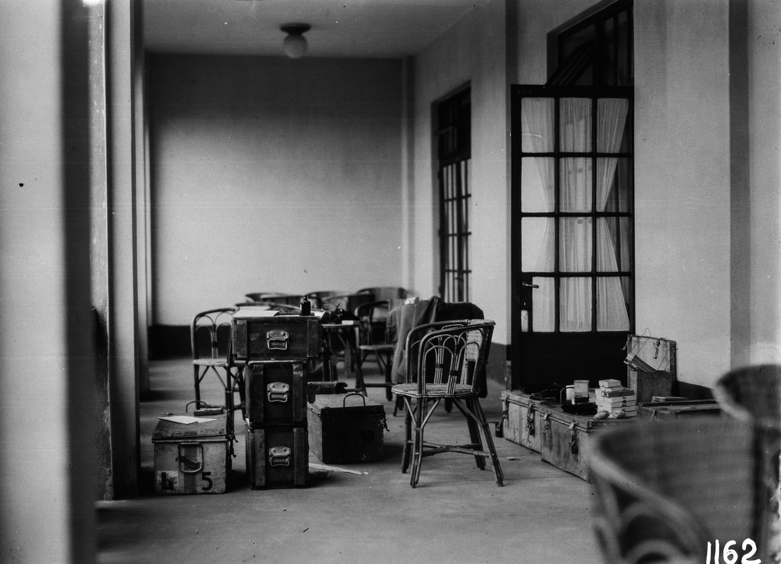 Элизабетвиль. Квартира, где остановились члены экспедиции.