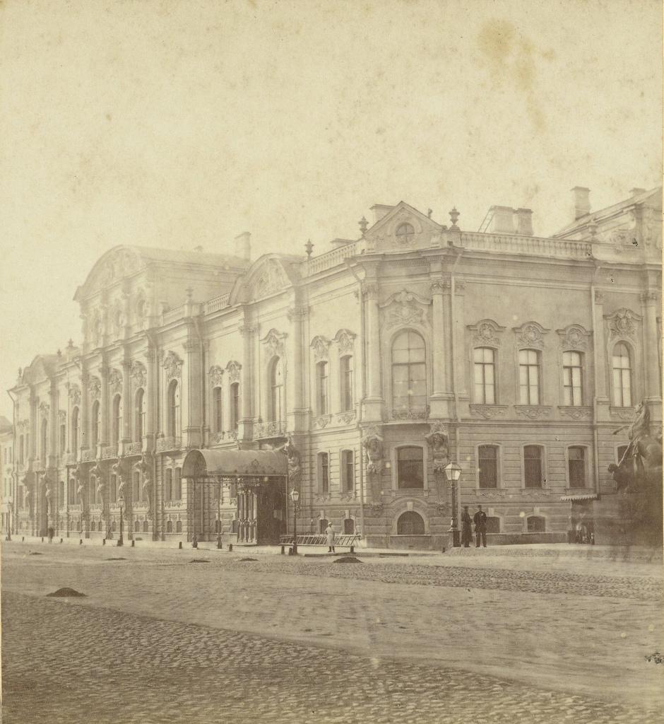 Дворец Белосельских-Белозерских. 1868