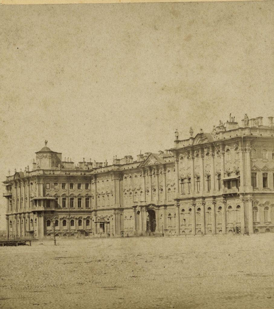 Зимний дворец. 1868