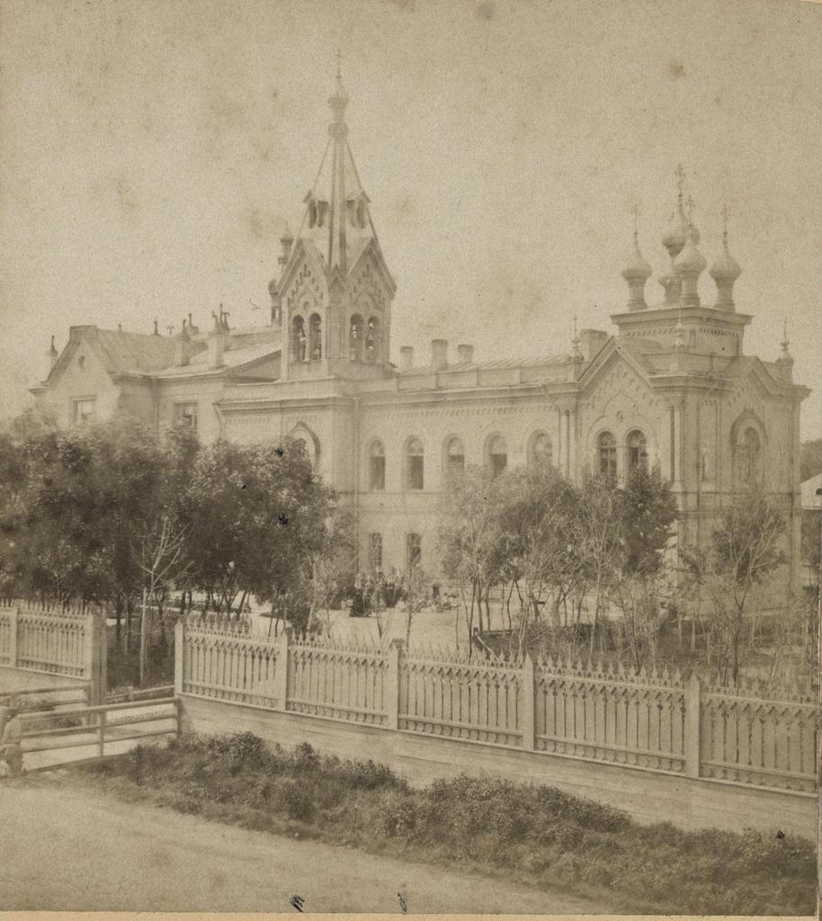 Институт сестер милосердия на Васильевском острове. 1868
