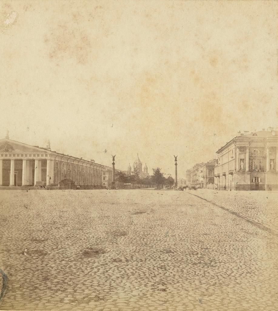 Конногвардейский бульвар. 1868