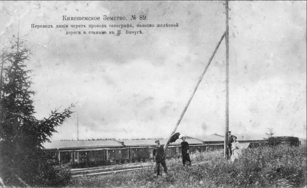 Телеграф на ж.д. станции Вичуга