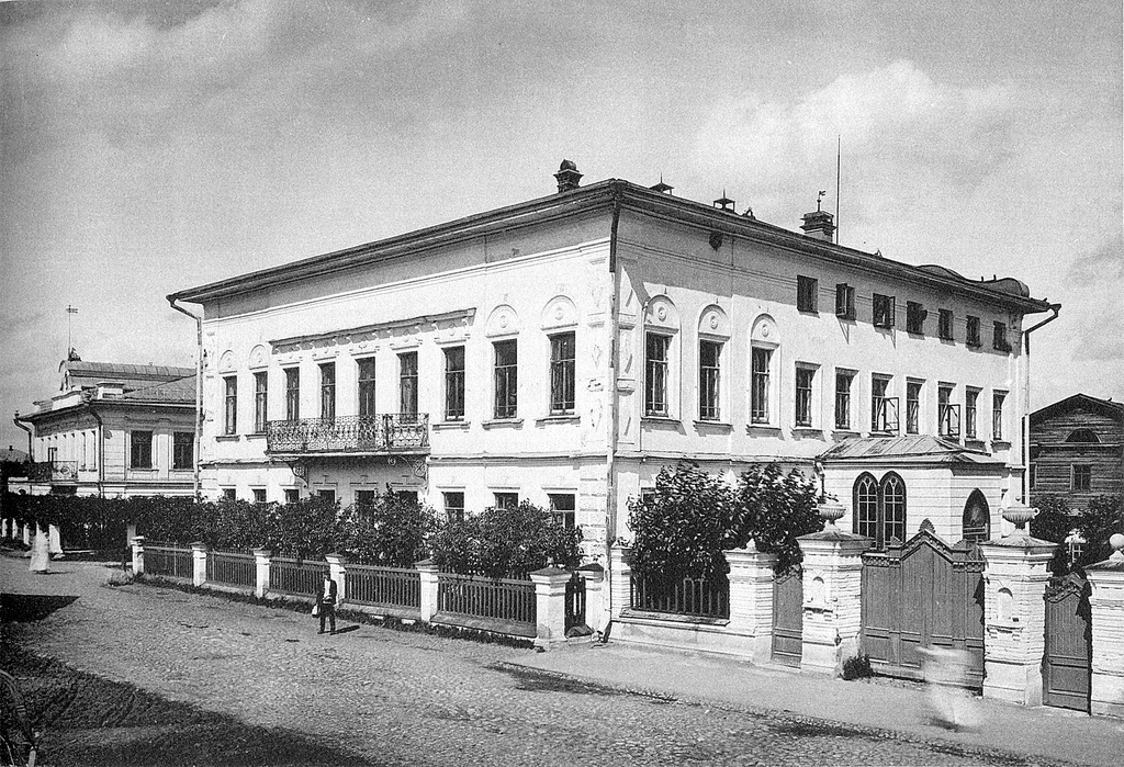 Дом правления при фабриках «Товарищества мануфактур Ивана Коновалова с Сыном» в Бонячках