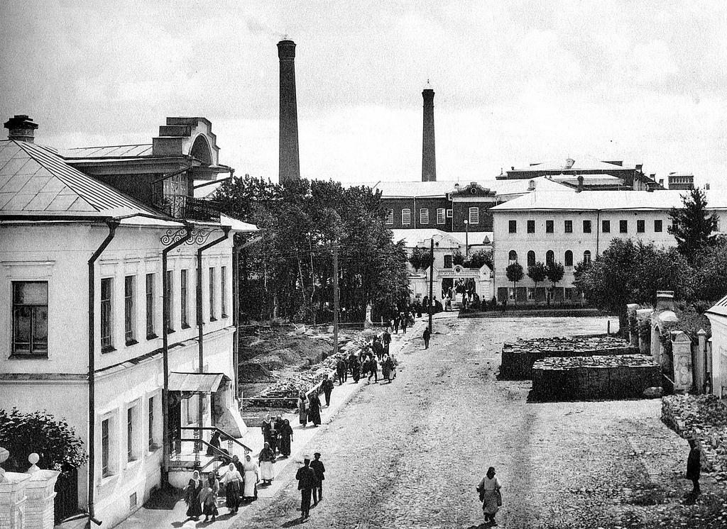 Проходная фабрики «Товарищества мануфактур Ивана Коновалова с Сыном»