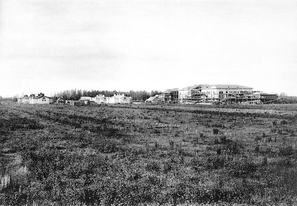 Строительство фабричной больницы «Товарищества мануфактур Ивана Коновалова с Сыном» и посёлка при ней