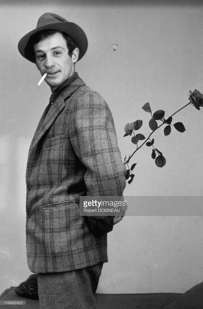 1960. Актер Жан-Поль Бельмондо