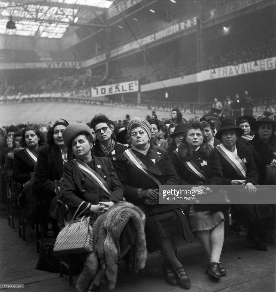 1945. Международная женская конференция. Париж
