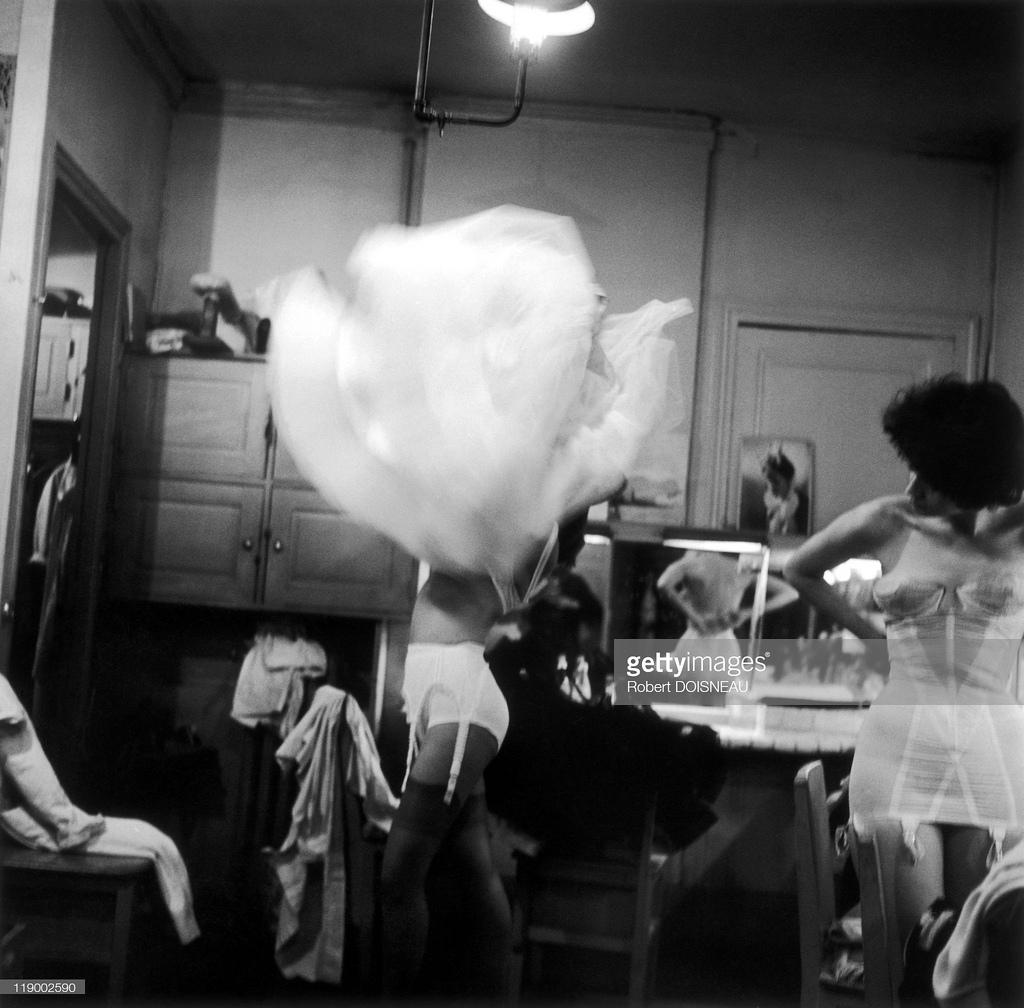 1958. Гардеробная Ланвина, Париж