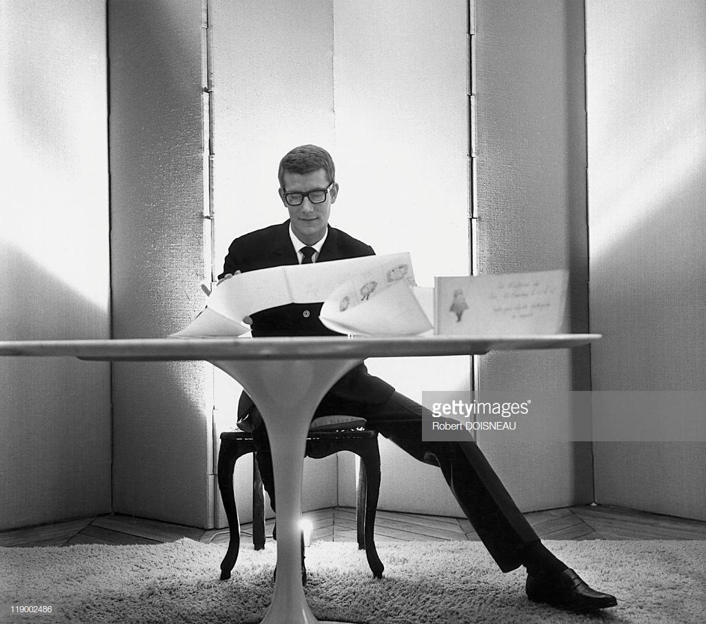 1964. Ив Сен-Лоран в Париже