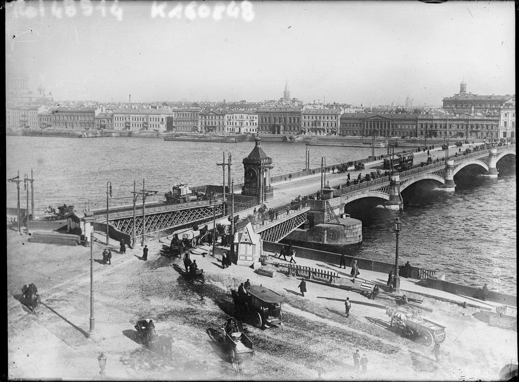 Николаевский мост. 1907