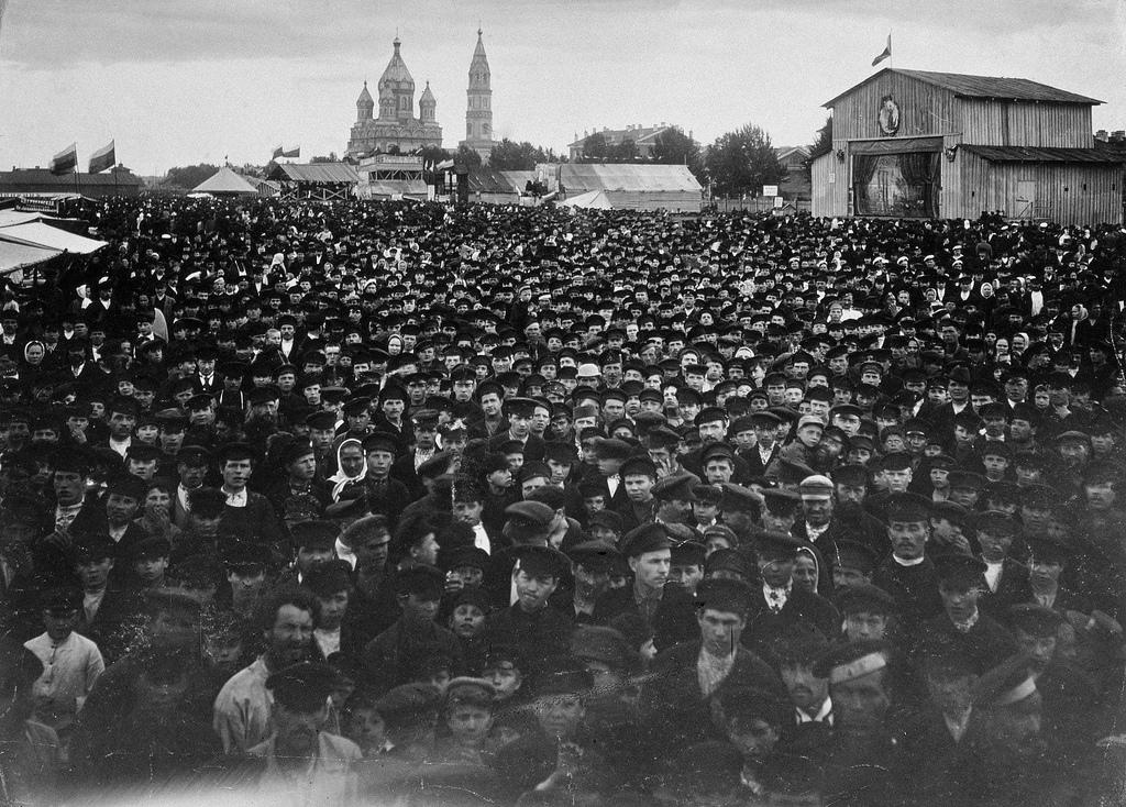 Семёновская площадь. 1900-е