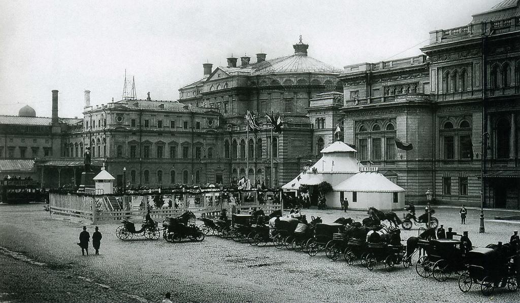 Театральная площадь. 1906