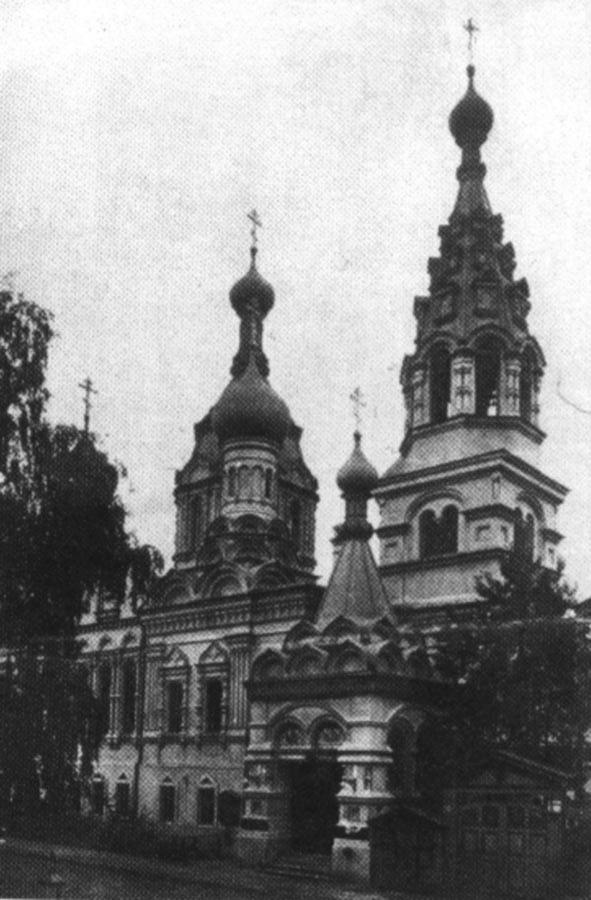 Церковь Грузинской иконы Божией Матери