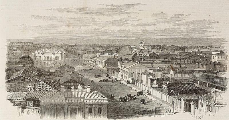 1869. Главная улица Иркутска