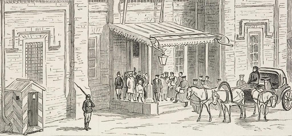 1882. Прибытие золота с рудников на плавильный дом