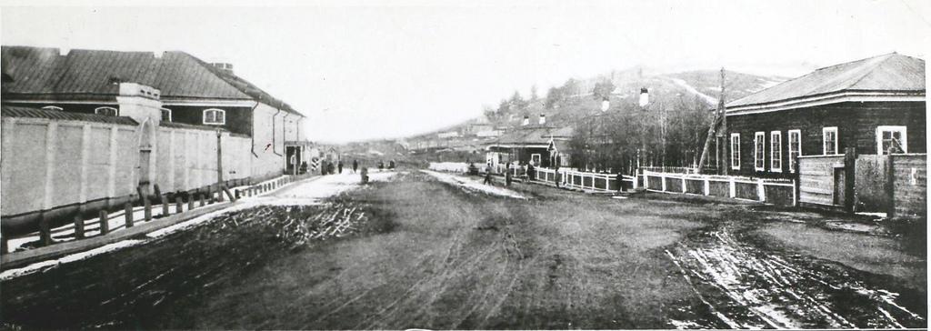 1896. Внешний вид иркутской каторжной тюрьмы.