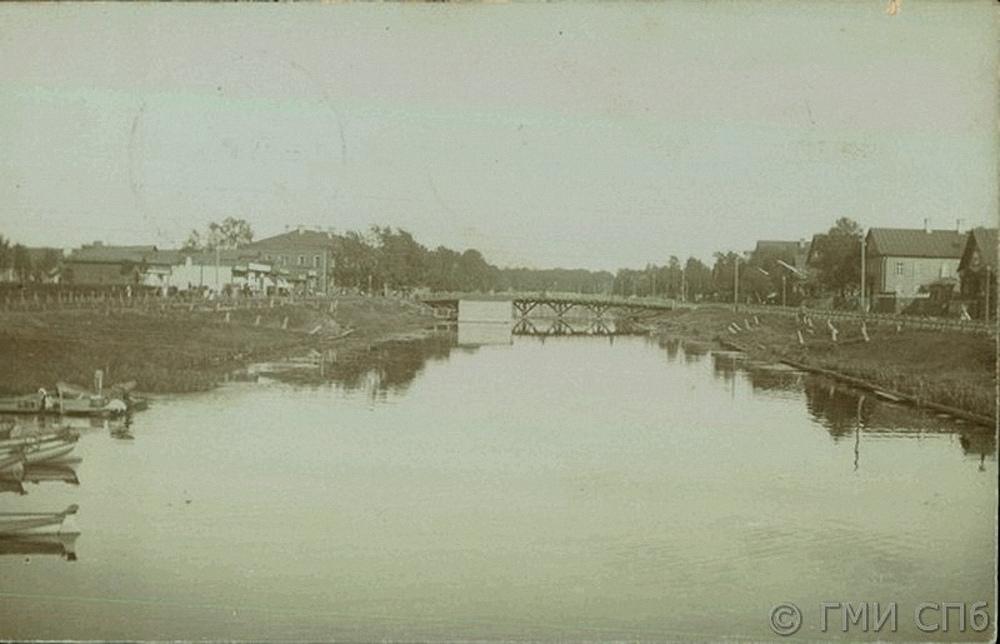 Вид на Прямой водоотводный канал