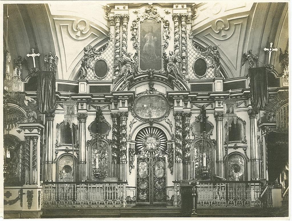 Троицкий собор. Интерьер.