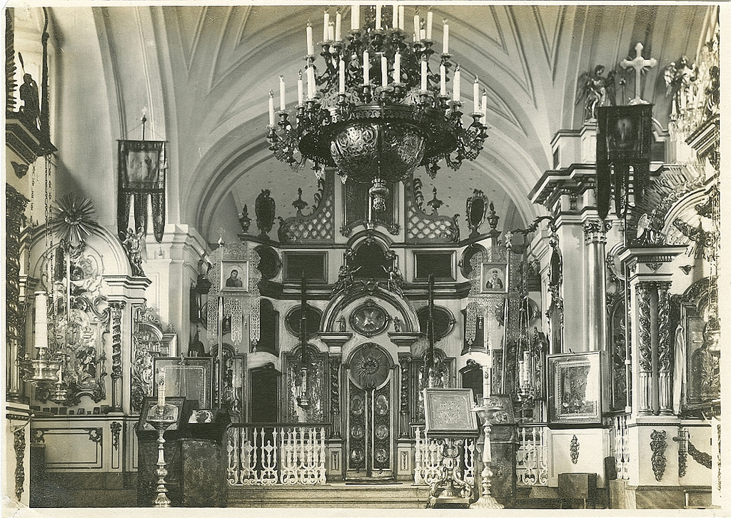 Троицкий собор. Интерьер