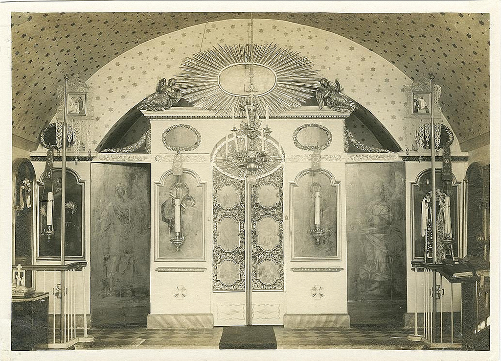 Церковь Николая Чудотворца на Колпинском кладбище