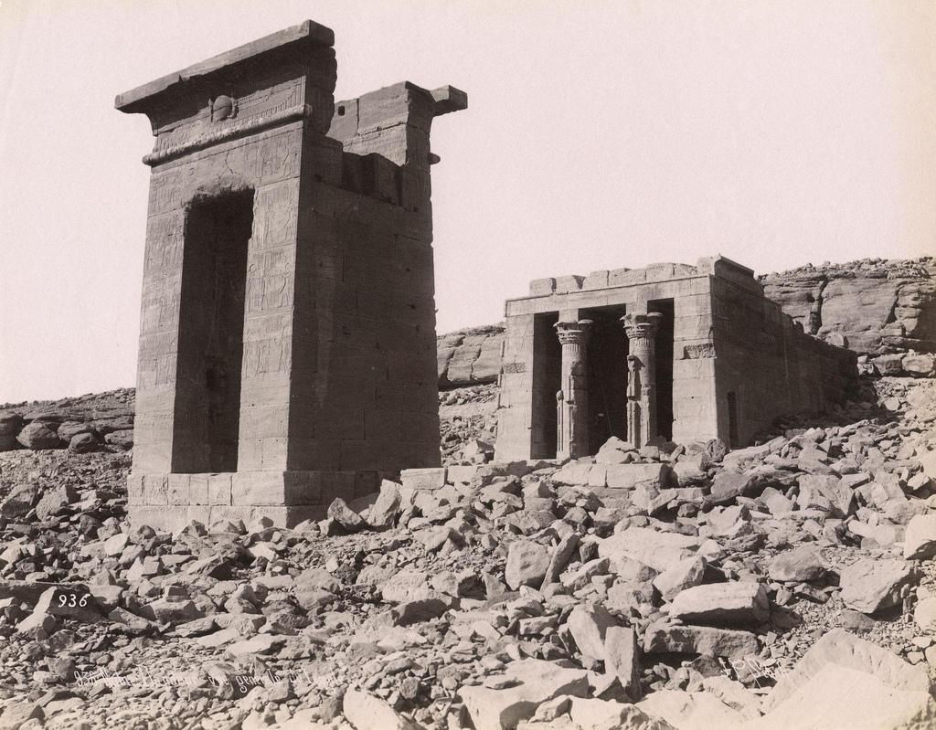 1880. Храм Дендур, Нубия