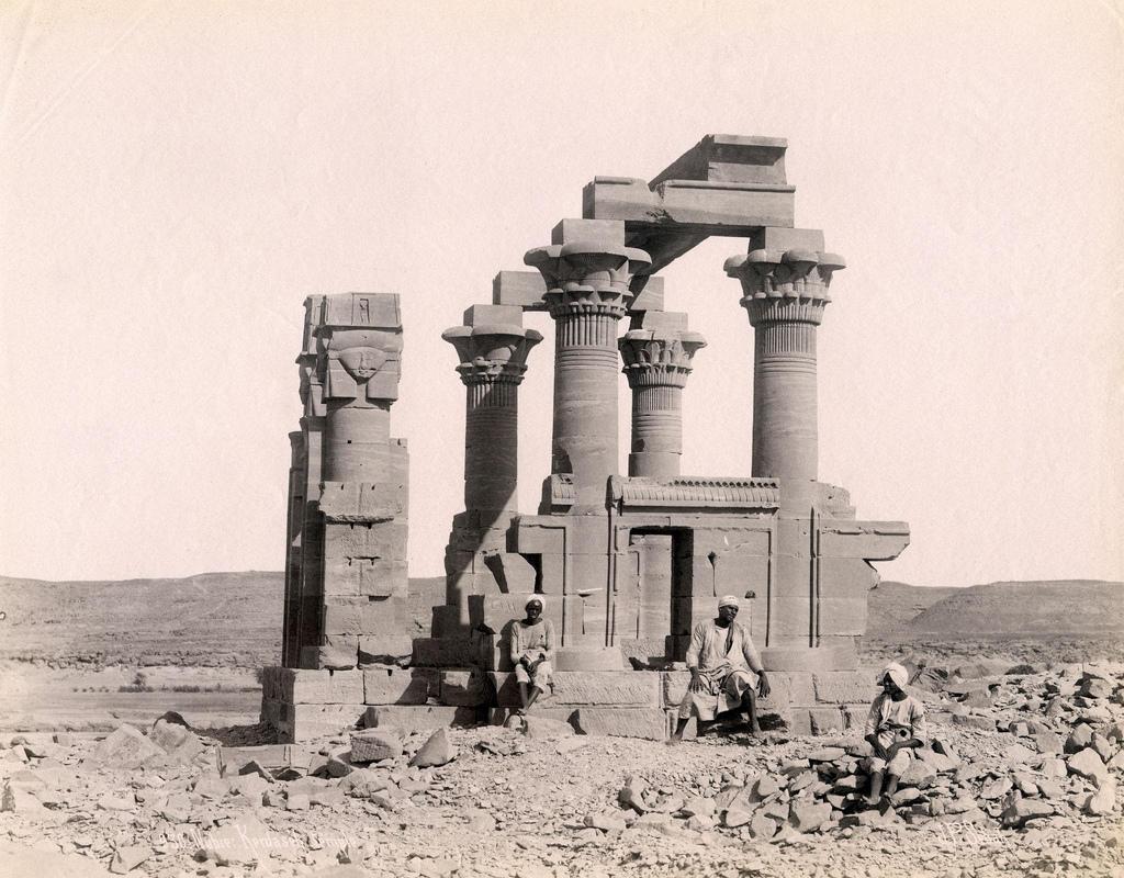 1880. Киоск Кертасси до того, как он был перенесен в Новую Калабшу в 1970