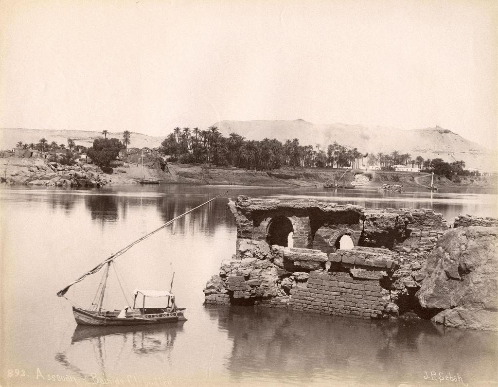 1890. Асуан. «Ванна Клеопатры»