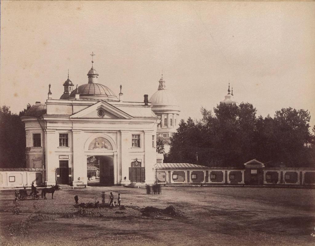 Александро-Невская лавра. 1880-е