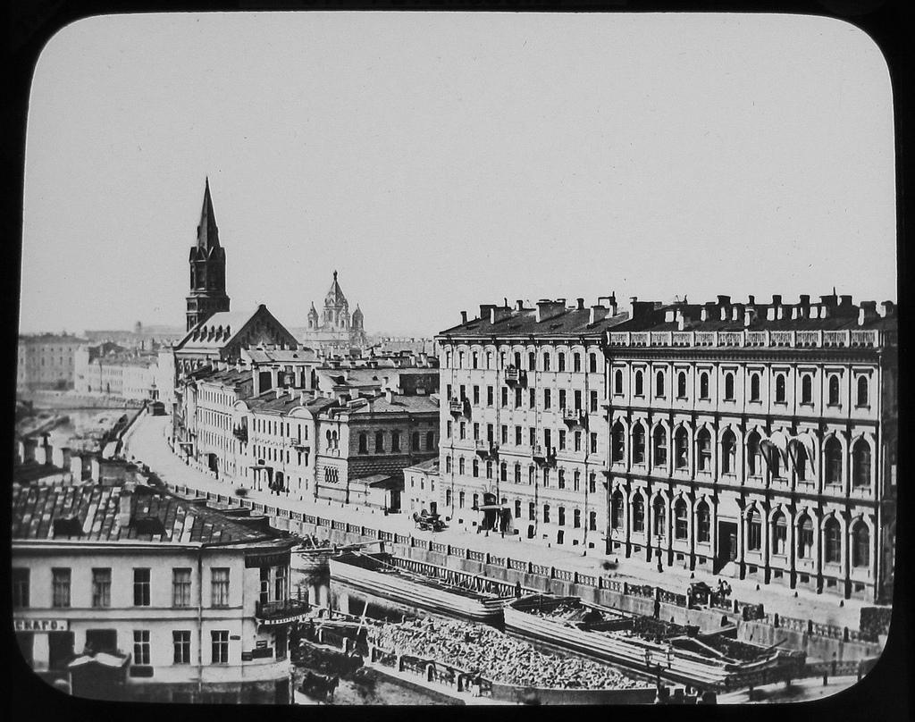 Набережная реки Мойки. 1874