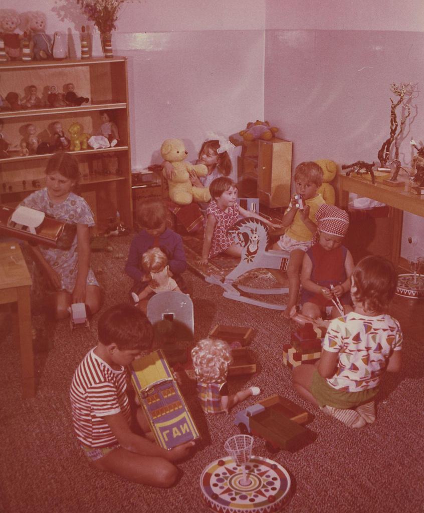 Краснодарский край. Курорт Туапсе. Пансионат «Шепси». Детская игровая комната