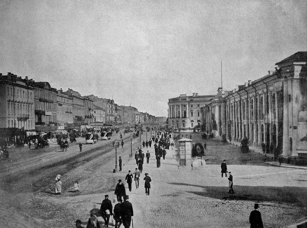 Невский проспект. 1884