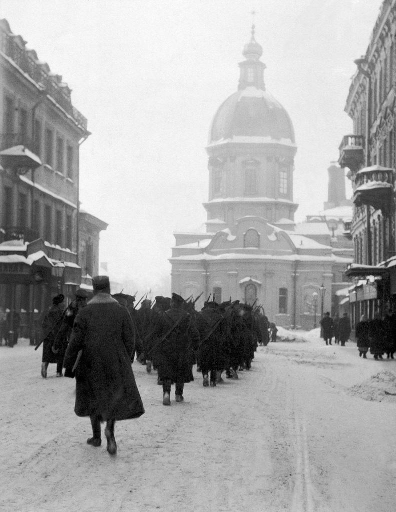 Пантелеймоновская улица. 1917