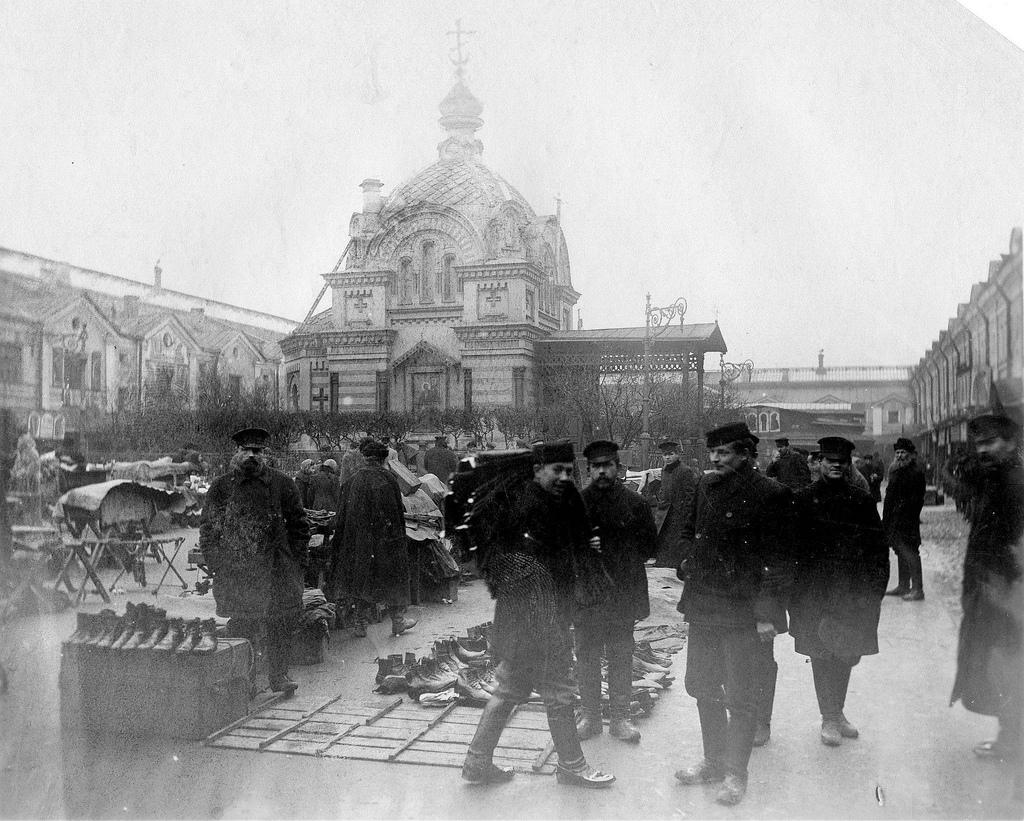Часовня Александра Невского на Ново-Александровском рынке. 1906