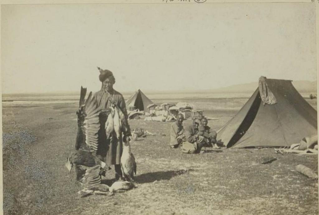 Охота в долине реки Дзапкун Гол, 7 сентября