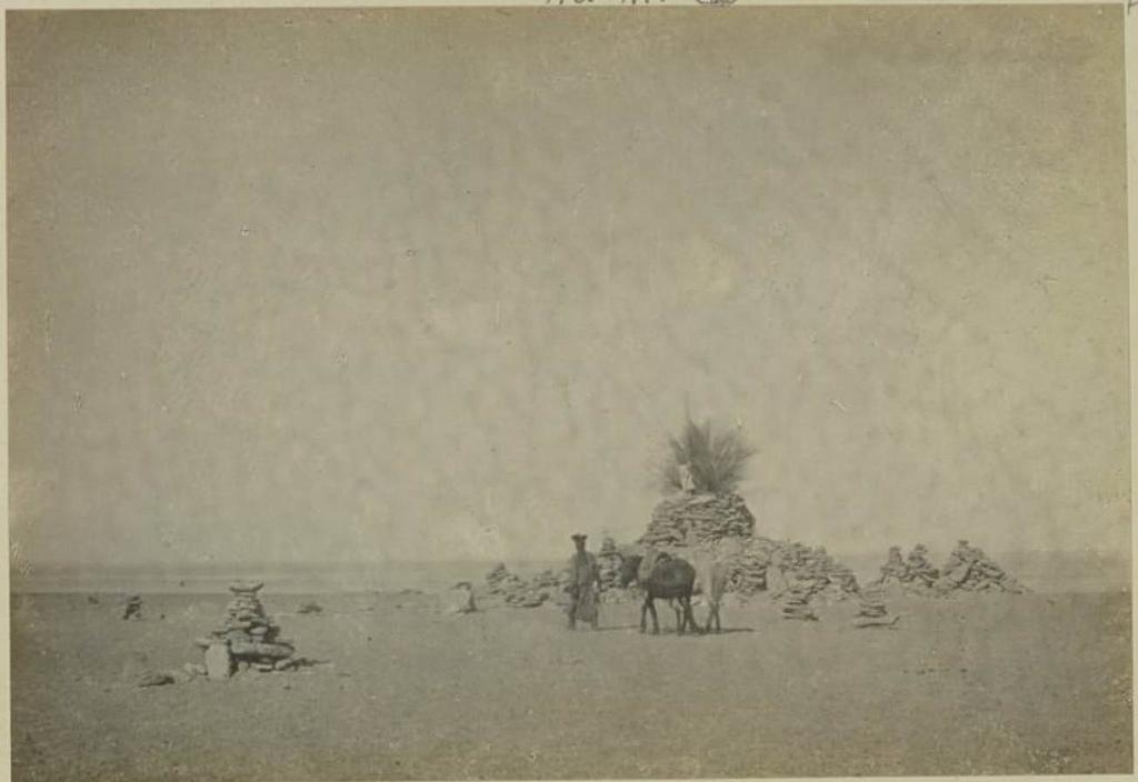 Большой «обо» на берегу Турга-Нор, 16 сентября