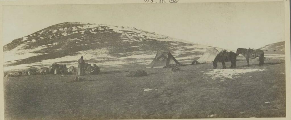 Наш последний лагерь на территории Монголии, 18 октября