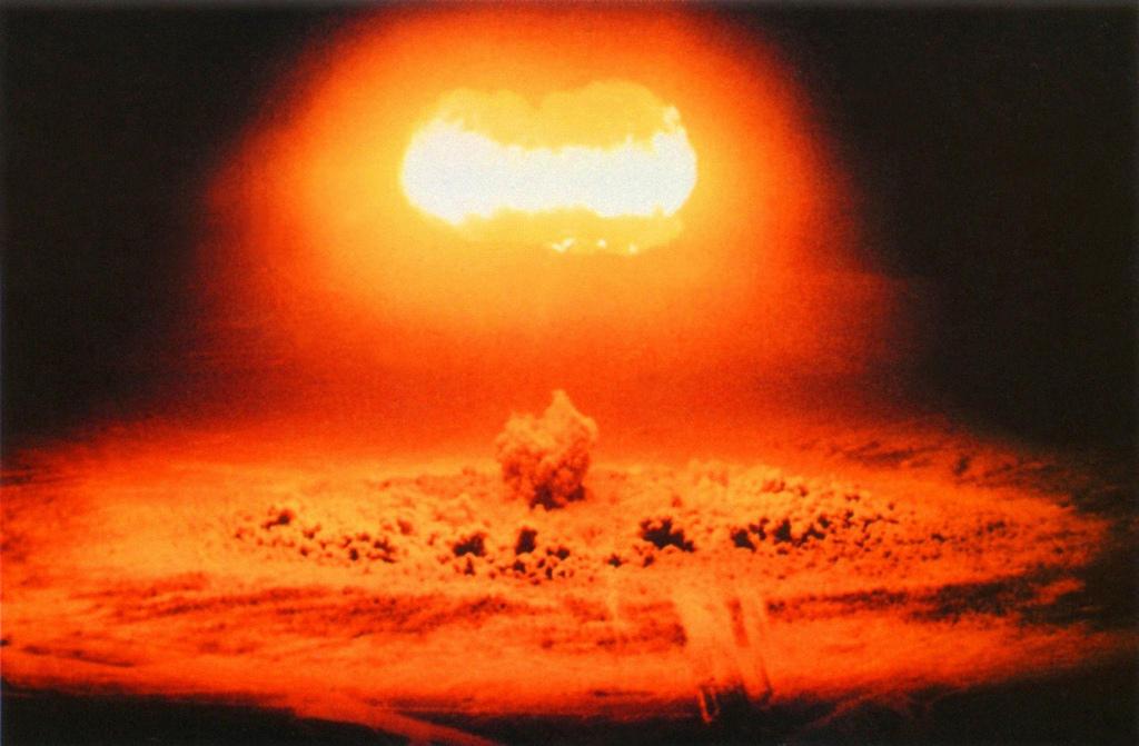 1957. Ядерное испытание Стокса в Неваде. 25 июня
