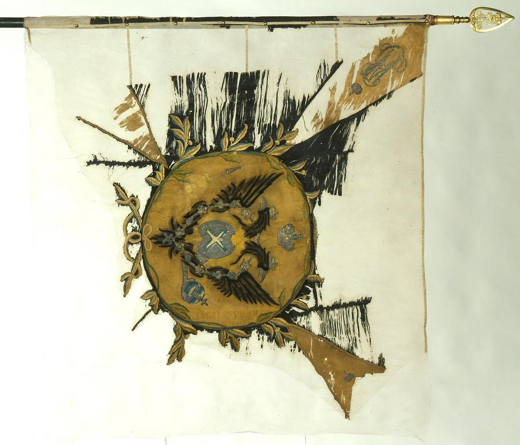 Пехотное гвардейское знамя. Царствование Екатерины II