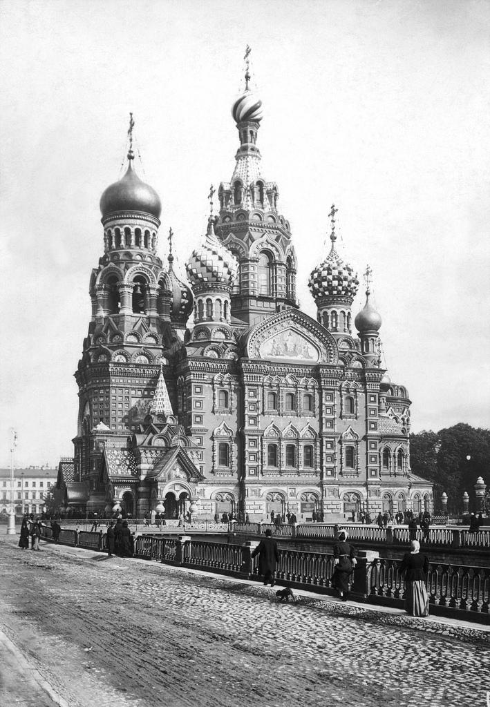 Храм-памятник Воскресения Христова. 1910