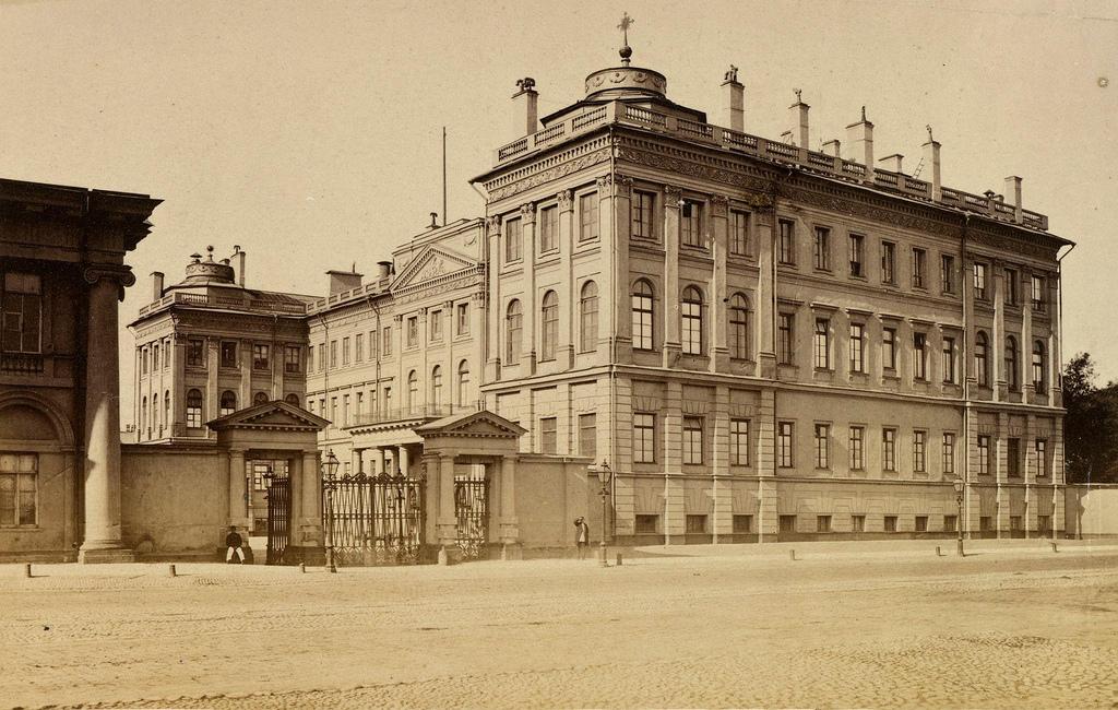 Аничков дворец. 1874